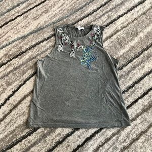 Elizabeth and James tank top, size small